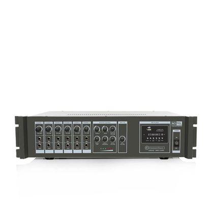 100 Watt Eko'lu Mp3 Çalarlı Hat Trafolu Power Mikser Ampilifikatör Resmi